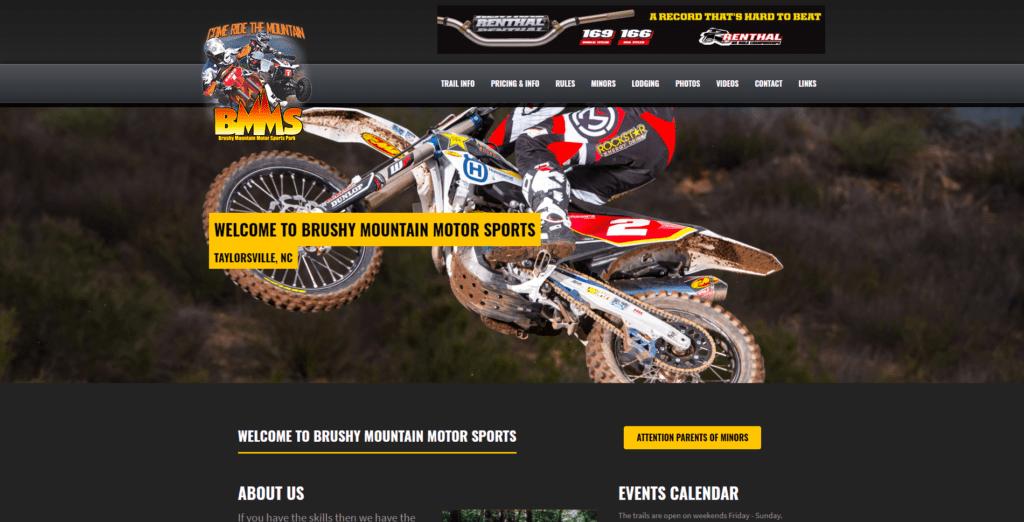 Brushy Mountain Motor Sports Homepage
