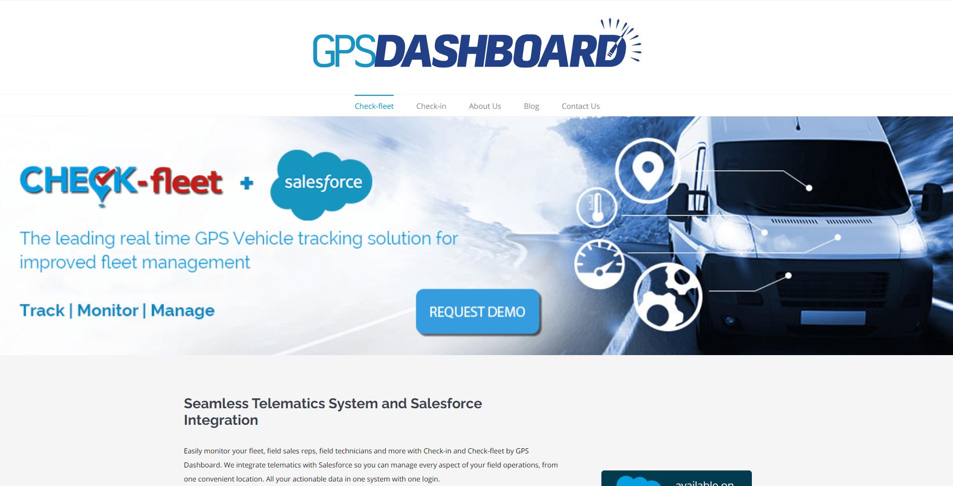 GPS Dashboard