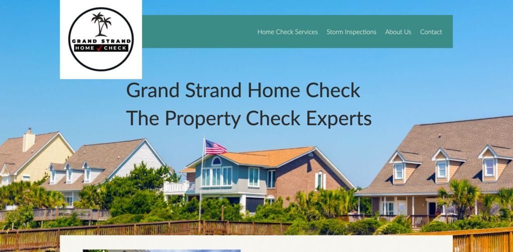 Grand Stand Home Check Homepage Screenshot